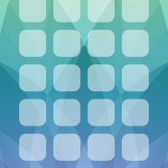 Pattern Apple events green blue purple shelf iPhone8 Wallpaper