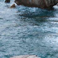 Landscape sea shore iPhone8 Wallpaper