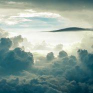 Landscape sky clouds iPhone8 Wallpaper