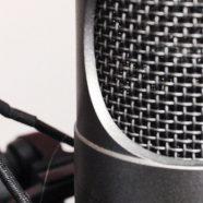 Condenser microphone gray iPhone8 Wallpaper