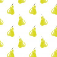 Pattern illustration fruit yellow women-friendly iPhone8 Wallpaper
