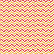 Pattern red orange white jagged iPhone8 Wallpaper