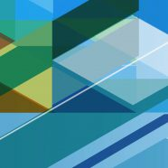 Pattern cool blue iPhone8 Wallpaper