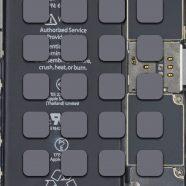 iPhone6s decomposition mechanical board cool shelf iPhone8 Wallpaper