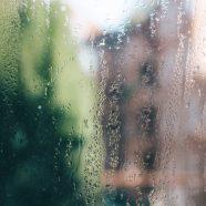 Rain landscape colorful iPhone8 Wallpaper