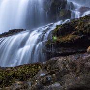 Landscape waterfall iPhone8 Wallpaper