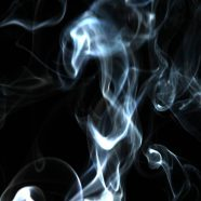 Smoke black landscape iPhone8 Wallpaper