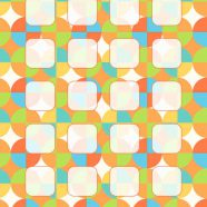 Pattern colorful shelves for girls iPhone8 Wallpaper