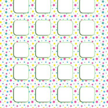 Colorful pattern for girls  pink  shelf iPhone8 Wallpaper