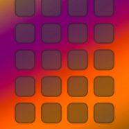 Shelf colorful purple  orange  blue iPhone8 Wallpaper