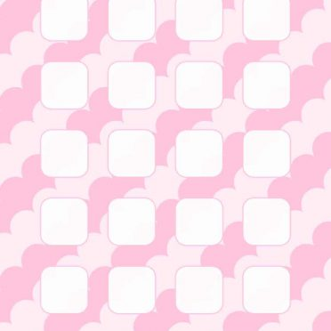 Pattern peach cute girls and woman for shelf iPhone8 Wallpaper