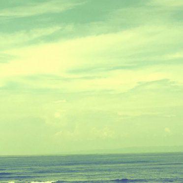 Sea Sky iPhone8 Wallpaper