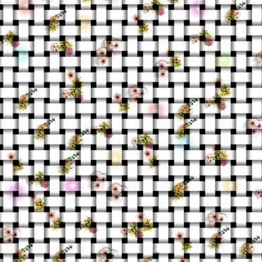 Flower mesh iPhone8 Wallpaper