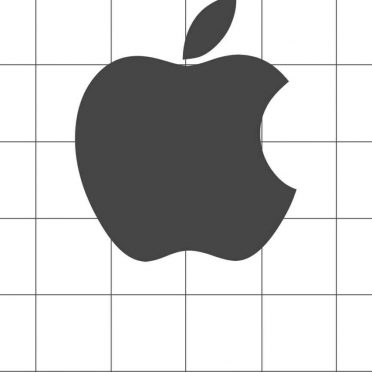 Apple logo Borders shelf iPhone8 Wallpaper