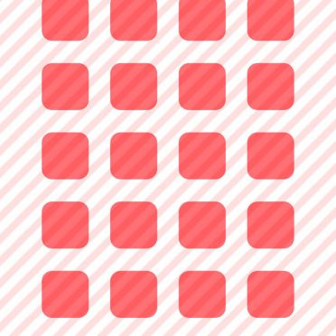 Pattern border  pink  red  shelf iPhone8 Wallpaper