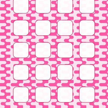pink  shelf  pattern for girls iPhone8 Wallpaper
