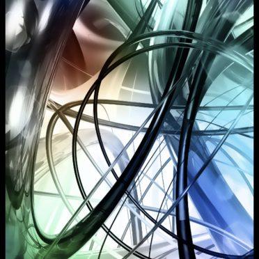 Spiral Cool iPhone8 Wallpaper
