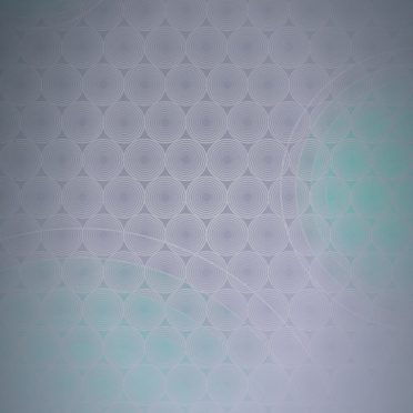 Dot pattern gradation circle light blue iPhone8 Wallpaper