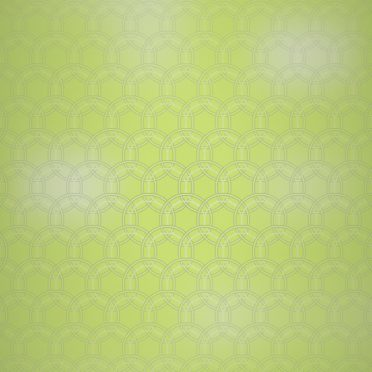 Round gradation pattern yellow iPhone8 Wallpaper