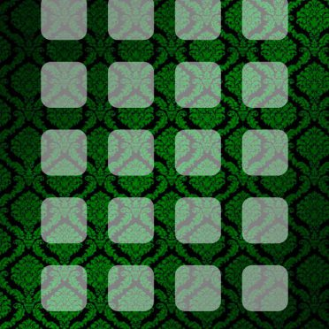 Pattern green black shelf iPhone8 Wallpaper