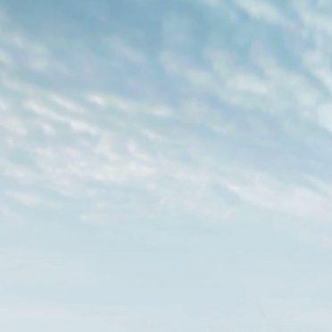 Snowy mountain landscape blank iPhone8 Wallpaper