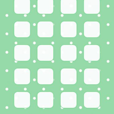 Pattern green shelf iPhone8 Wallpaper