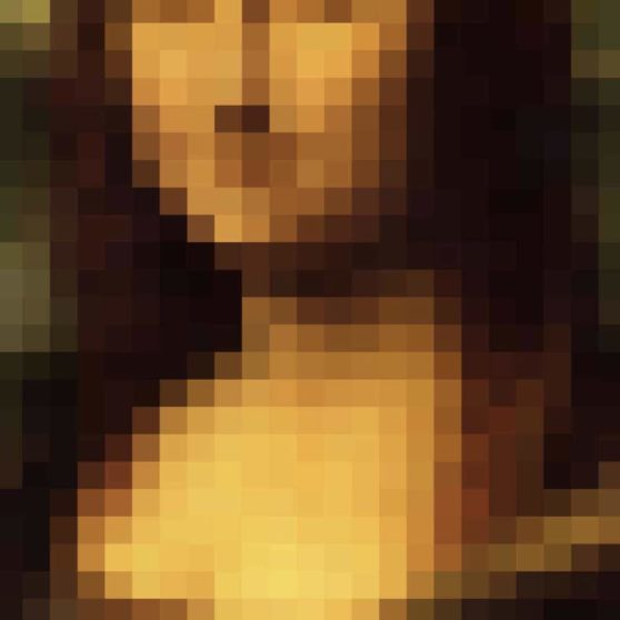 Mona Lisa picture mosaic iPhoneX Wallpaper