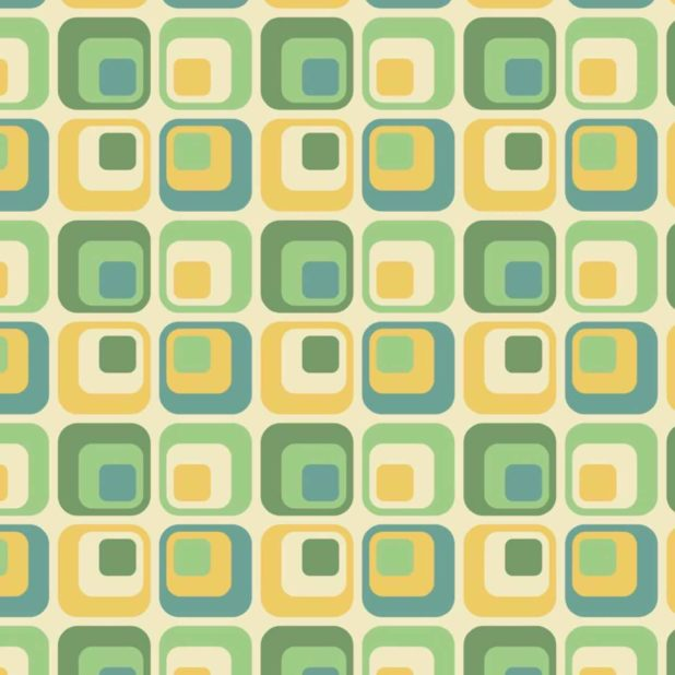 Pattern Square Blue Green Yellow Wallpaper Sc Iphone Xs Max