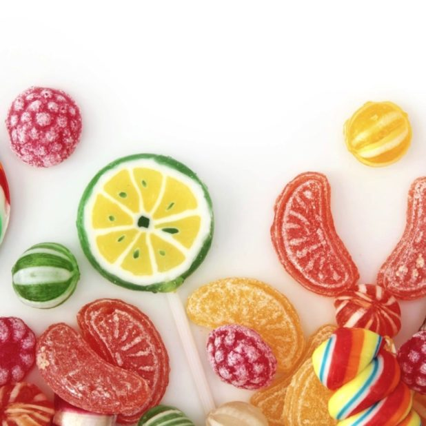 Women for food candy colorful candy iPhoneXSMax Wallpaper