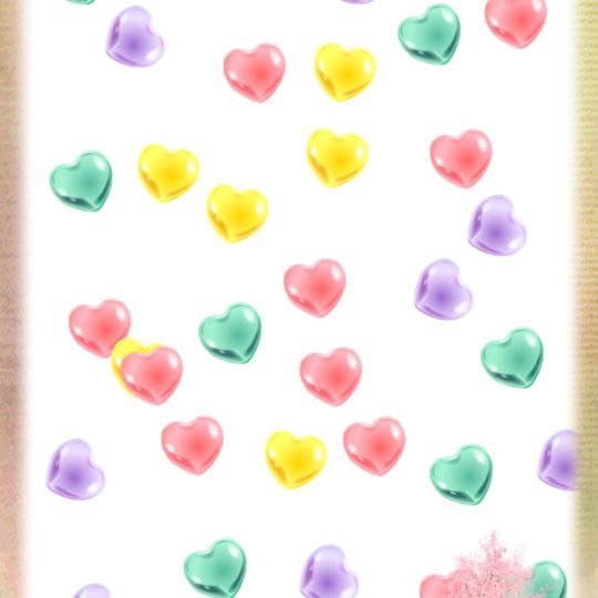 Corazón colorido Fondo de Pantalla SmartPhone para Android