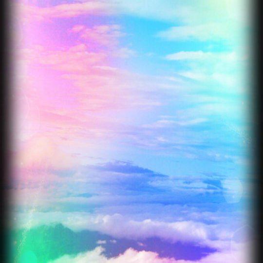 Nubes de cielo Fondo de Pantalla SmartPhone para Android