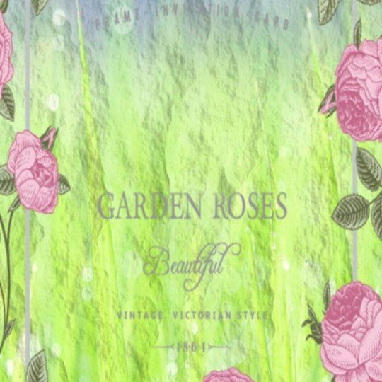 Jardín de rosas Fondo de Pantalla SmartPhone para Android