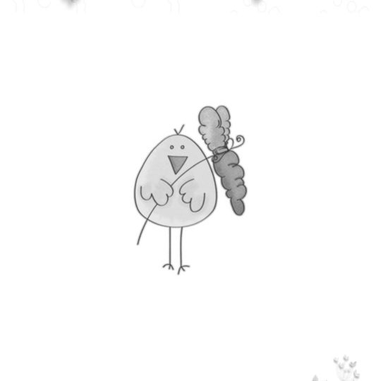 Pájaro monocromo Fondo de Pantalla SmartPhone para Android