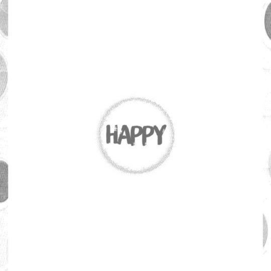 Feliz monocromo Fondo de Pantalla SmartPhone para Android