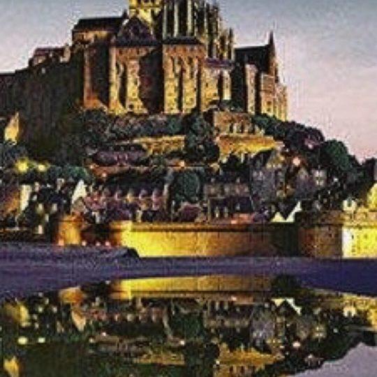 Mont-St-Michel Patrimonio de la Humanidad Fondo de Pantalla SmartPhone para Android