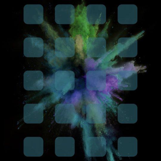 Desplome colorido Fondo de Pantalla SmartPhone para Android