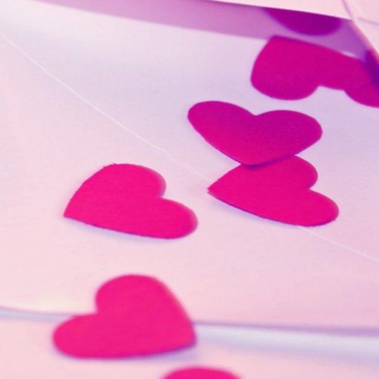 Corazón rojo de las mujeres Fondo de Pantalla SmartPhone para Android