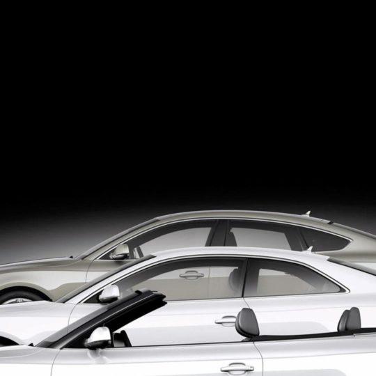 coche blanco y negro guay Fondo de Pantalla SmartPhone para Android