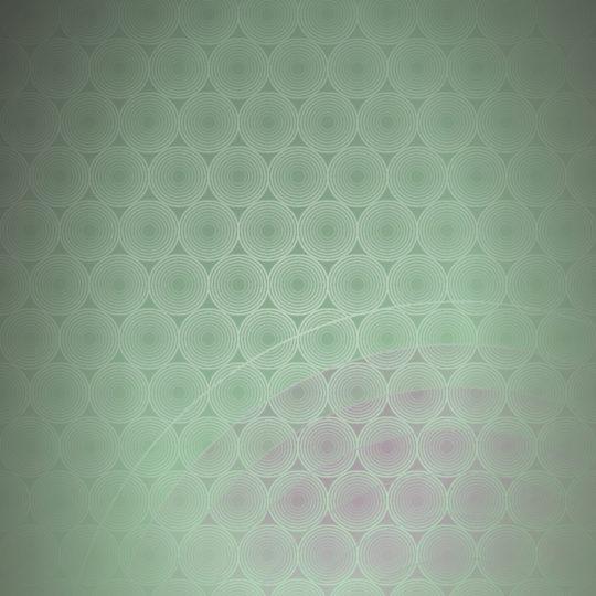 punto círculo patrón de gradación verde Fondo de Pantalla SmartPhone para Android