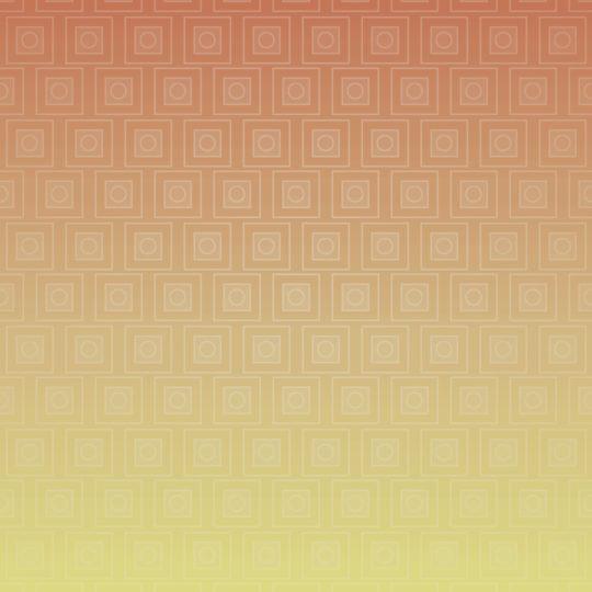 dibujo de degradación cuadrilátero Rojo Amarillo Fondo de Pantalla SmartPhone para Android