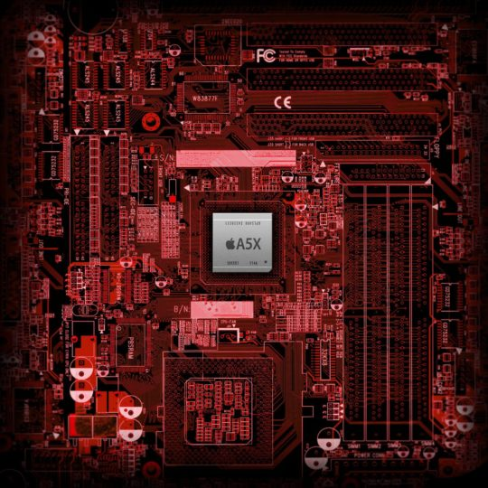tablero de manzana rojo Fondo de Pantalla SmartPhone para Android