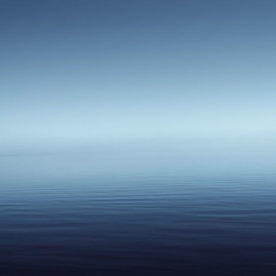 azul paisaje de agua Fondo de Pantalla SmartPhone para Android