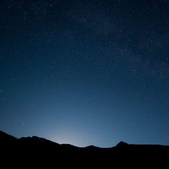 cielo nocturno paisaje Fondo de Pantalla SmartPhone para Android