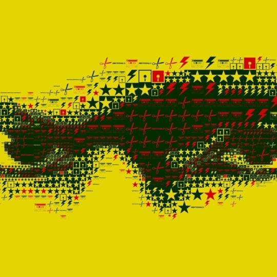 Chara ojos de color amarillo Fondo de Pantalla SmartPhone para Android