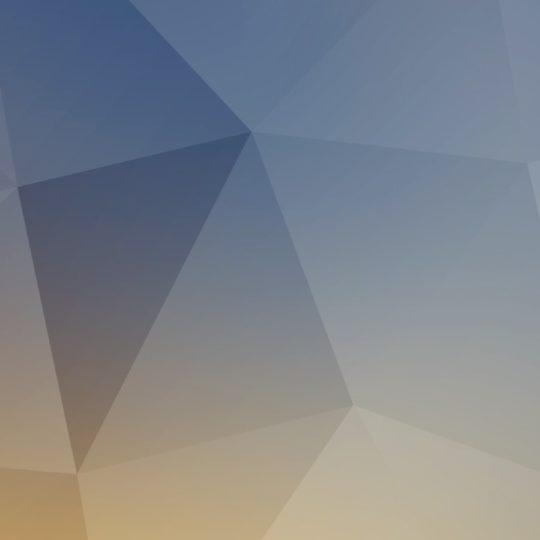 El patrón de color azul-blanco amarillo Fondo de Pantalla SmartPhone para Android