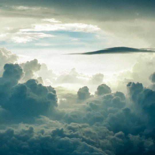 Las nubes del cielo Fondo de Pantalla SmartPhone para Android