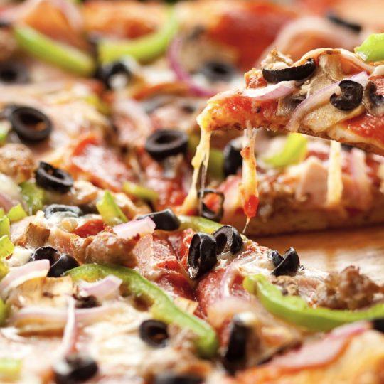 alimentos pizza Fondo de Pantalla SmartPhone para Android