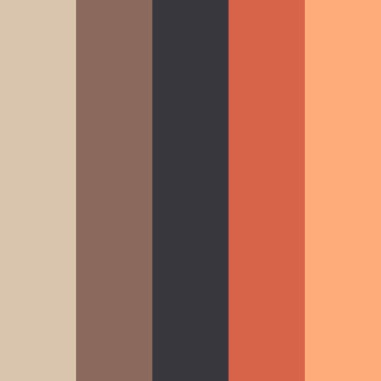 modelo anaranjado Fondo de Pantalla SmartPhone para Android