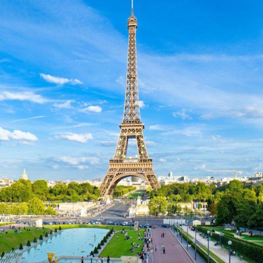 Paisaje Torre Eiffel Fondo de Pantalla SmartPhone para Android