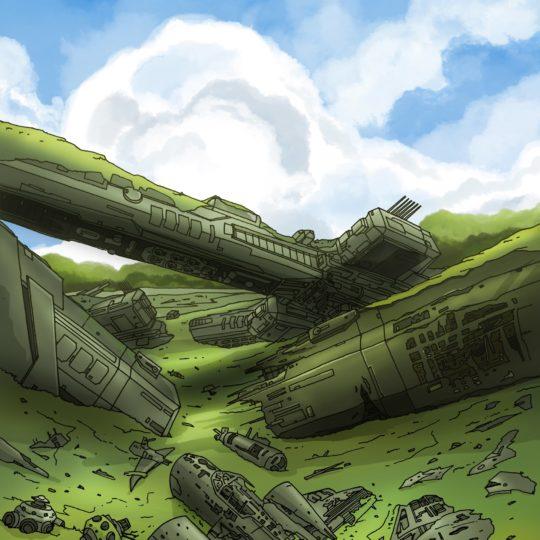 imagen del paisaje verde Fondo de Pantalla SmartPhone para Android